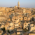 The village of Matera on Italy