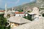 Historical old town of Mostar