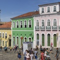 The historic district of Pelourinho in Salvador Bahia