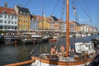 The Nyhavn canal at Copenhagen