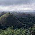 The Chocolate Hills in Bohol island