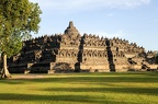 The temple of Borobudur on Java island 1