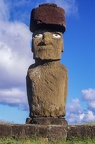 Moais statues on easter island 2