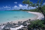 Tropical paradise beach of Ile Aux Cerfs