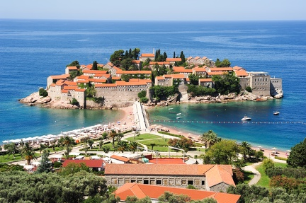 The village of Sveti Stefan