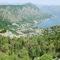View at the bay of Kotor
