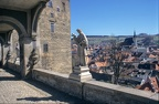 View from castle in Cesky Krumlov